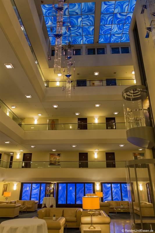 Lobby im Maritim Hotel Fulda