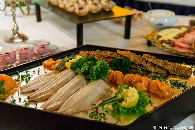 Geräucherter Fisch zum Mönchsdinner