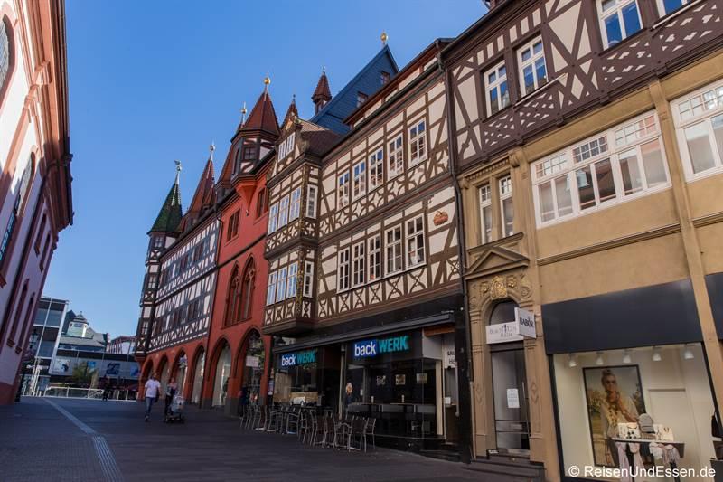 Fachwerkhäuser Unterm Heilig Kreuz in Fulda