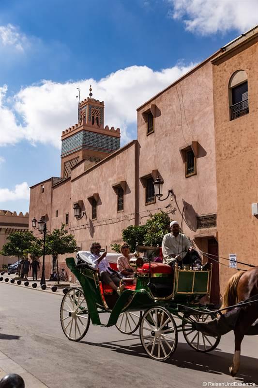 Pferdekutsche in Marrakesch