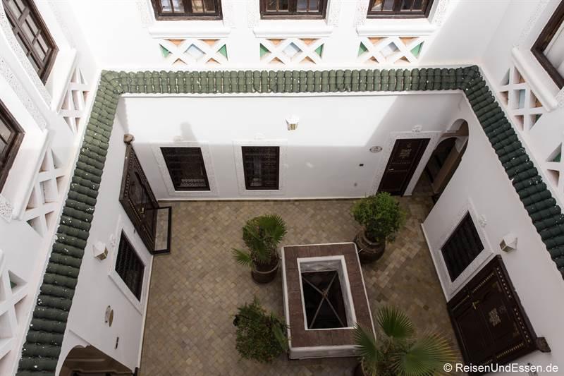 Innenhof in Riad Palais des Princesses in Marrakesch