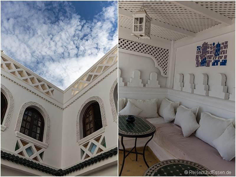 Dachterrasse in Riad Palais des Princesses in Marrakesch