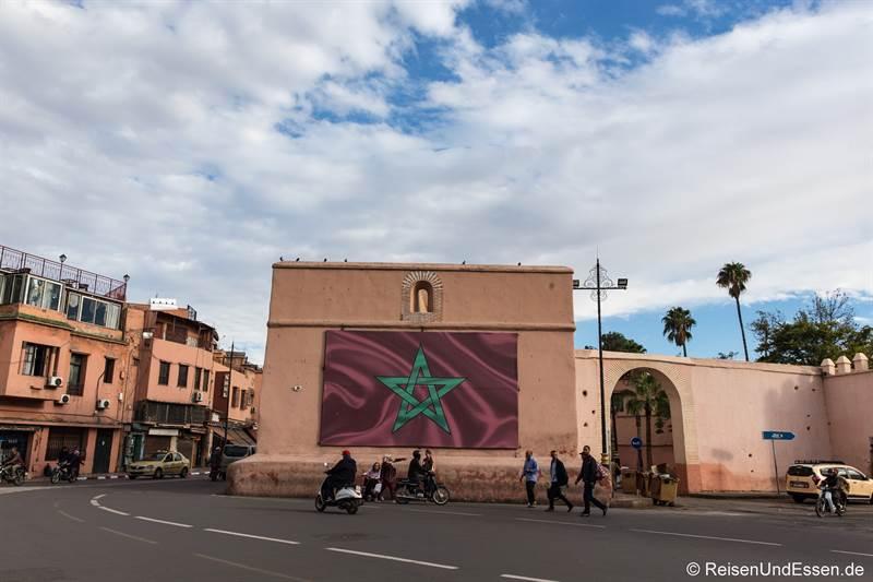 Platz in Marrakesch