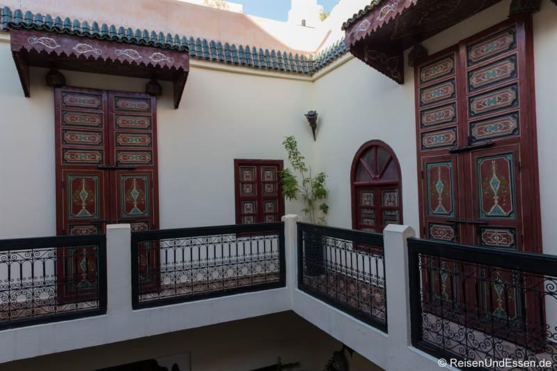 Innenhof Riad Julia in Marrakesch