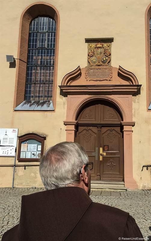 Rundgang auf dem Kreuzberg mit Klosterbruder