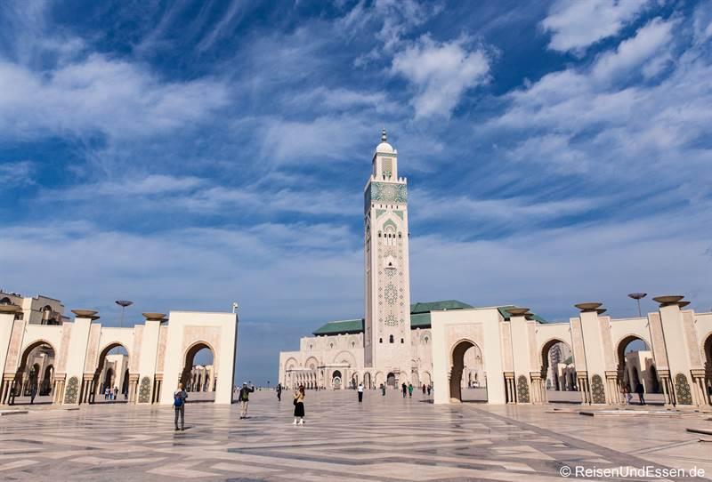 Platz vor der Sultan II Moschee