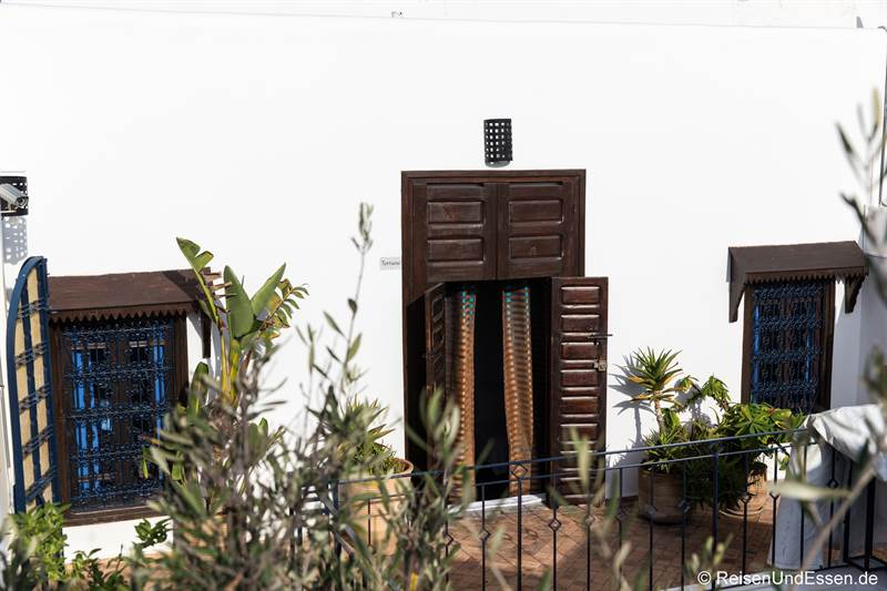 Zugang zum Zimmer im Riad Dar Soufa in Rabat