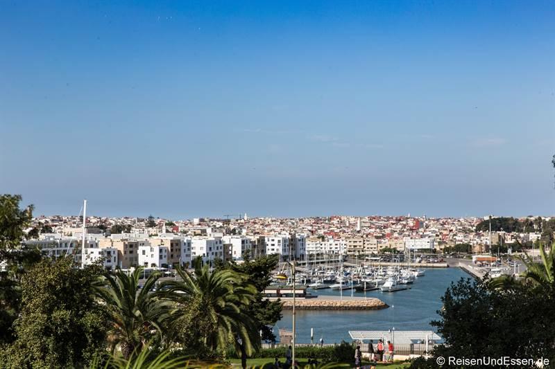 Blick von Rabat auf Sale