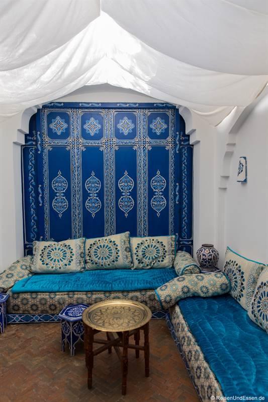 Lounge im Hotel Al Alba