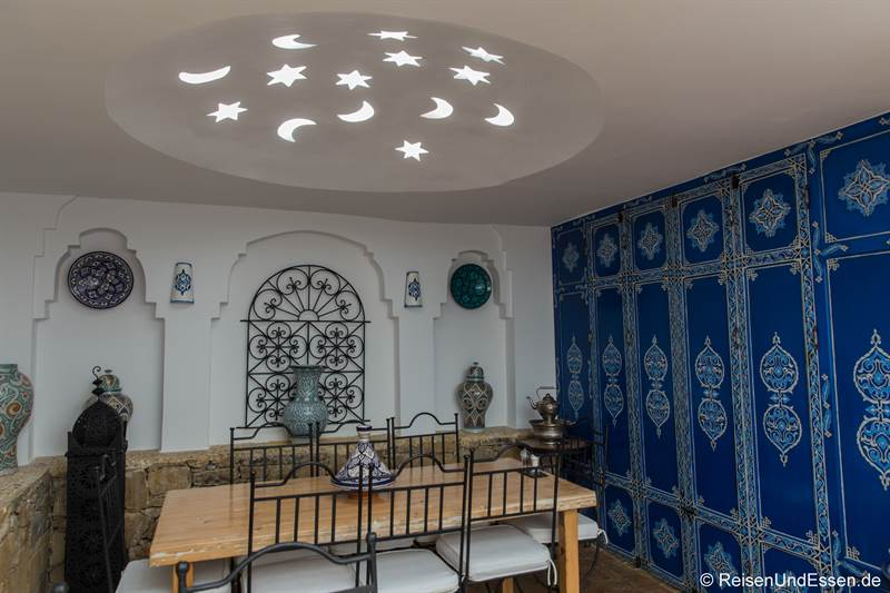 Frühstücksraum im Hotel Al Alba