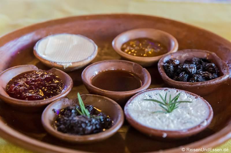 Frühstück im Hotel Dar Chefchaouen