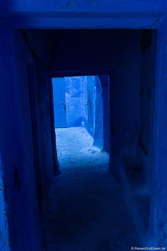 Blaue Gasse in Chefchaouen