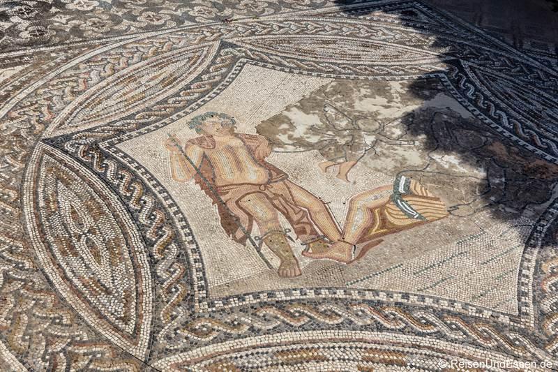 Mosaik im Haus des Dionysos