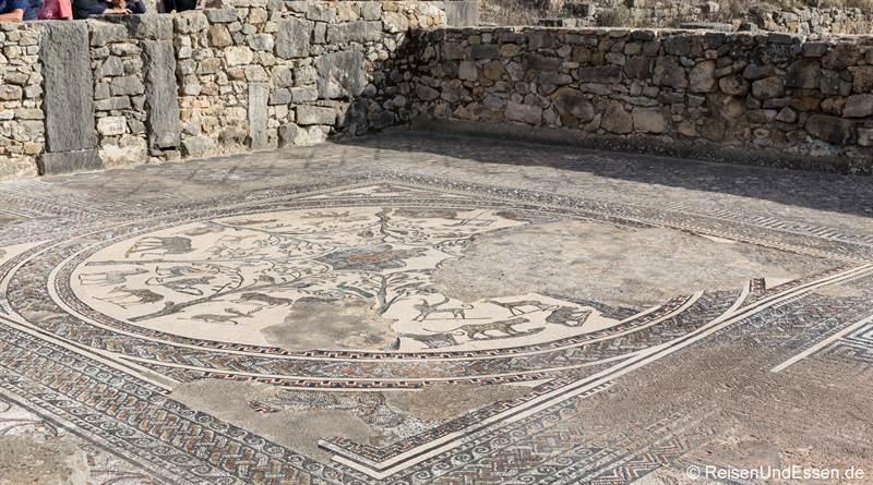 Mosaik im Haus des Orpheus