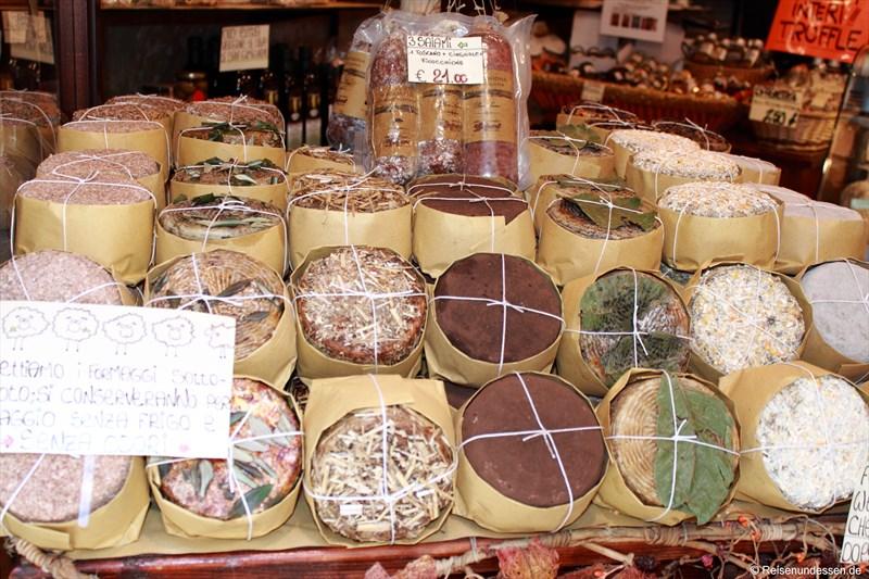 Käse in der Toskana