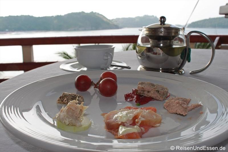 Frühstück im Royal Phuket Yacht Club