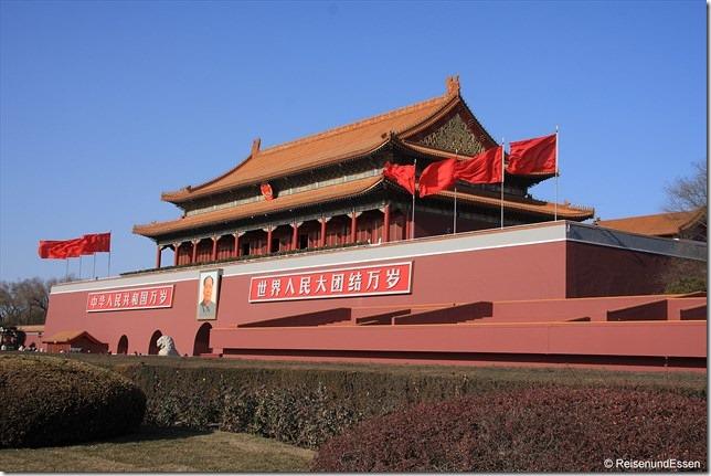 Beijing - Tor des himmlischen Friedens