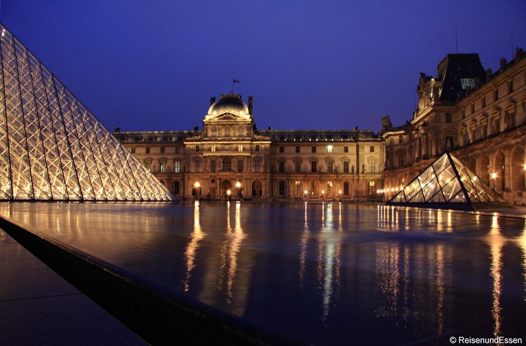 Spaziergang in Paris entlang einiger Sehenswürdigkeiten