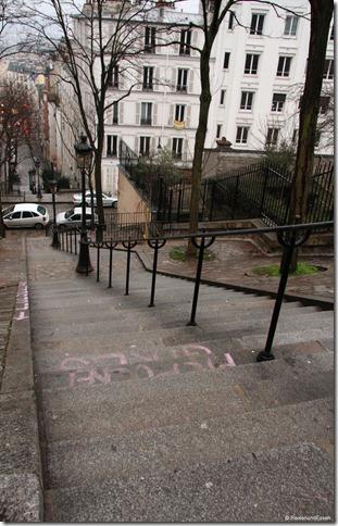 Treppen am Montmartre