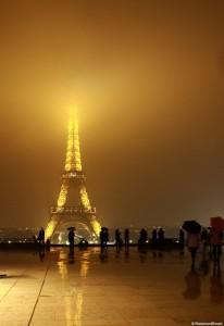 In Paris durch Einkaufspassagen und mehr