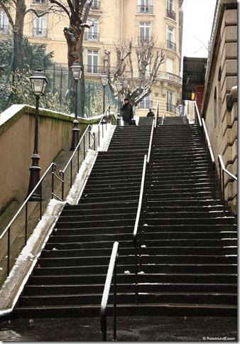Treppe zur Metro