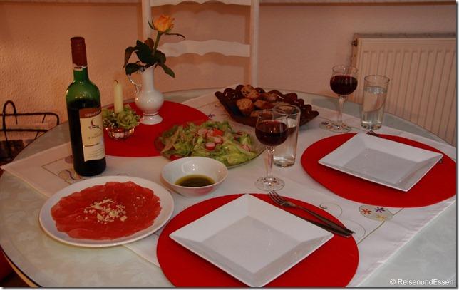 Abendessen in Rügen