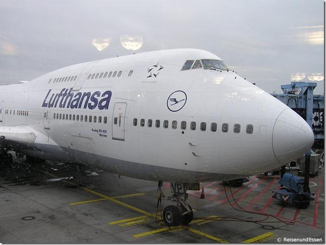 LH 720 am Flughafen Frankfurt
