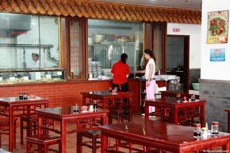 traditioneller chinesischer Imbiss in Beijing