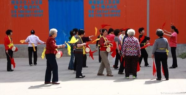 Taiyuan - Morgengymnastik