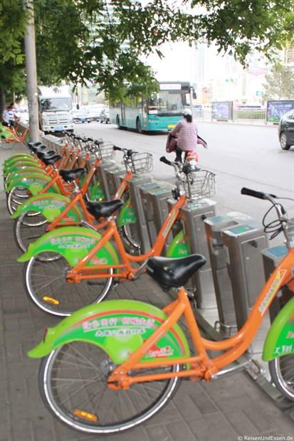 Taiyuan - Fahrradmietstation