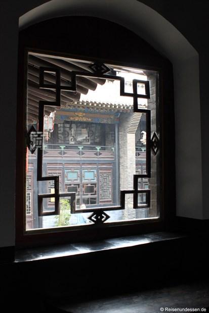 Pingyao - Blick aus Fenster