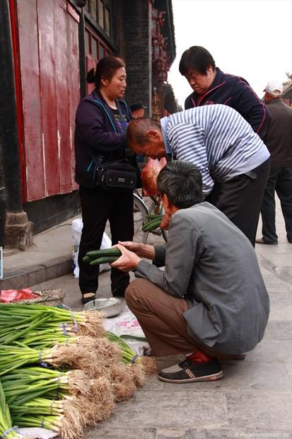 Pingyao - Auf dem Markt