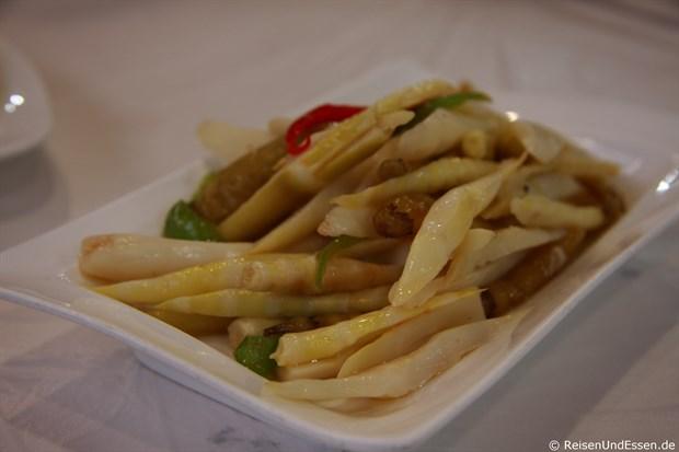Taiyuan - sehr pikanter Bambus (scharf)