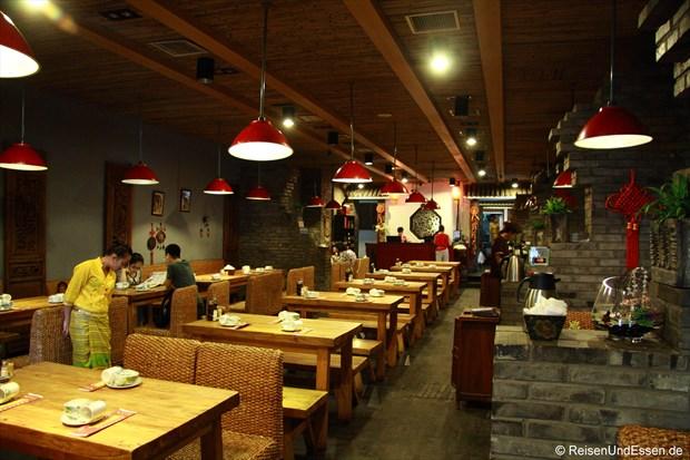Blick in das Yunnan Restaurant