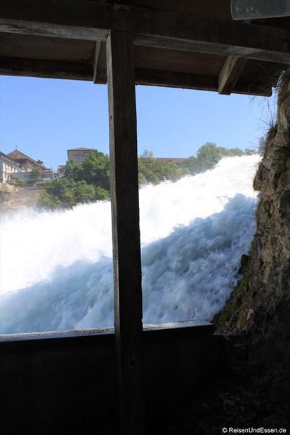 Schweiz - Fenster zum Rheinfall