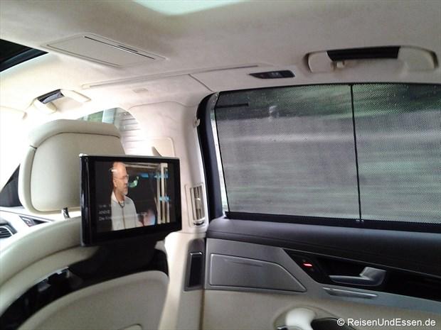Fernsehen im Audi A8L