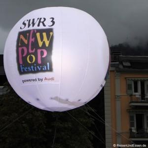 Eventhopping beim SWR3 New Pop Festival
