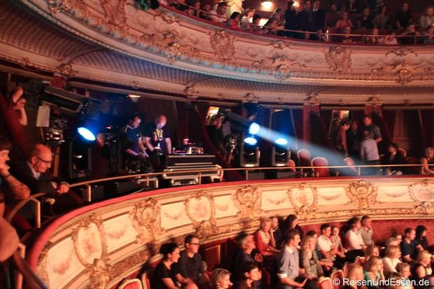 Zuschauerränge im Theater von Baden Baden
