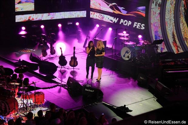 Anneta Politi und Barbara Schöneberger beim SWR3 New Pop Special