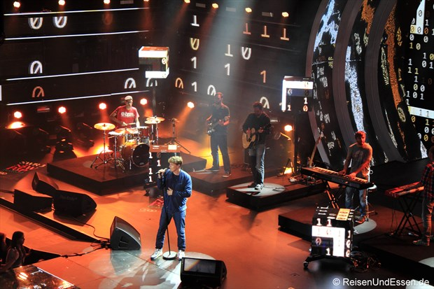 Tim Bendzko beim SWR3 New Pop Special