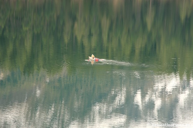 Angler auf dem St. Moritzersee