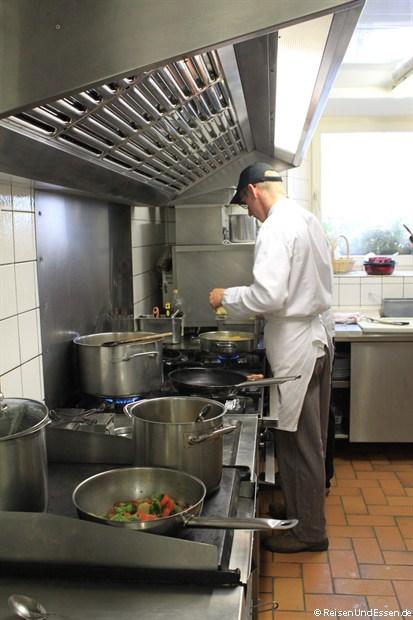 In der Küche im Gasthaus Sponsel
