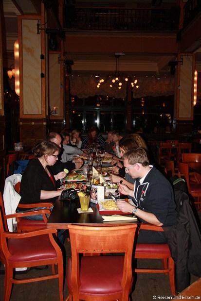 Reiseblogger-Treffen im Cafe Palais in Koblenz