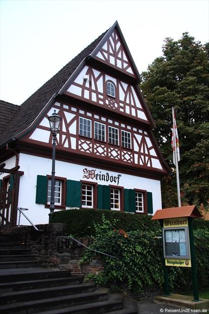 Weindorf in Koblenz beim Mercure