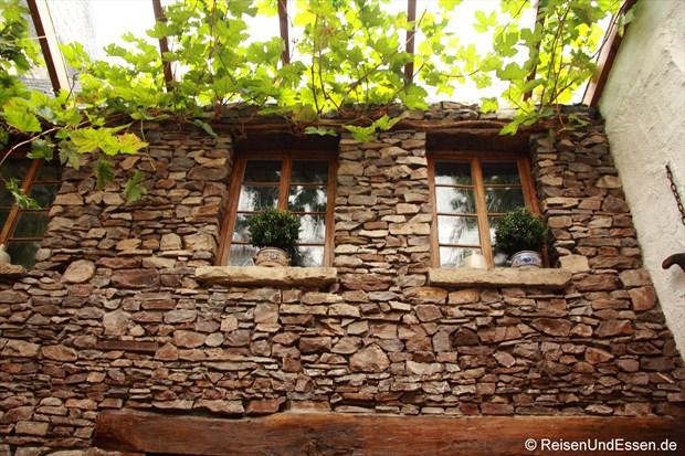 Innenhof im Weingut Fries