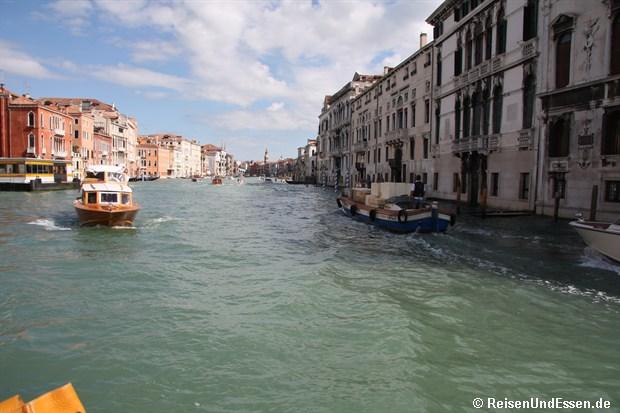 Fahrt über den Canale Grande