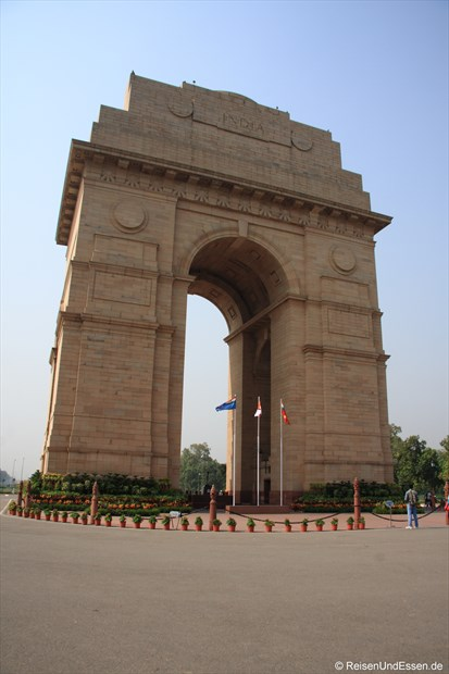 Delhi - India Gate (Rückseite)