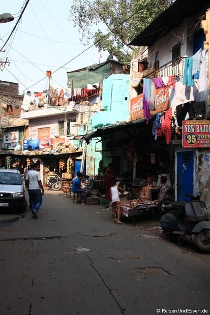 Seitenstrasse in Old Delhi