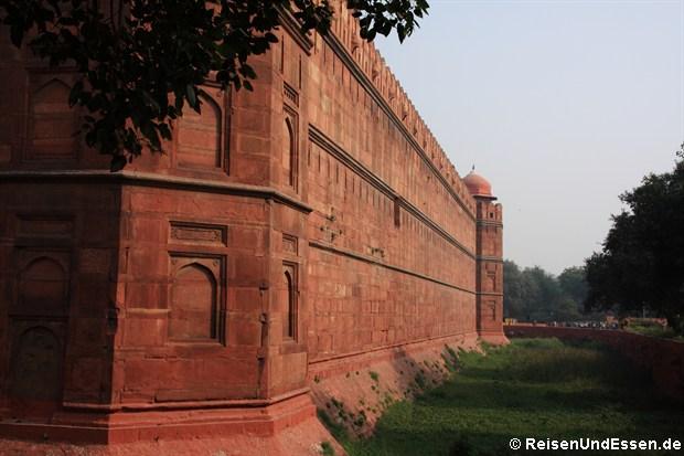 Rotes Fort in Old Delhi