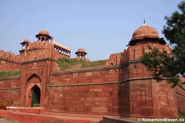 Rotes Fort in Old Delhi